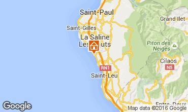 Mapa La Saline les Bains Villa 102826