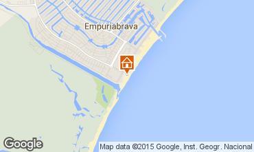 Mapa Ampuriabrava Apartamento 56325