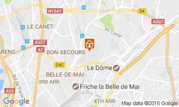 Mapa Marsella Apartamento 107552