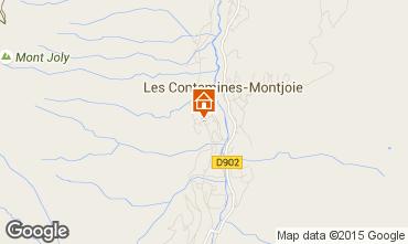 Mapa Les Contamines Montjoie Apartamento 27901