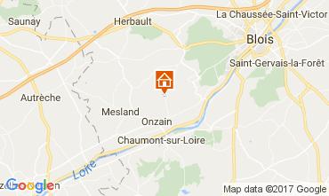 Mapa Onzain Mobil home 110005