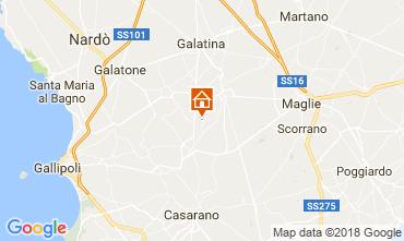 Mapa Casarano Villa 113763