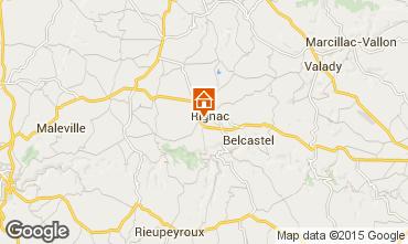 Mapa Rignac Casa rural 12137