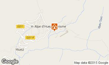 Mapa Alpe d'Huez Apartamento 40228