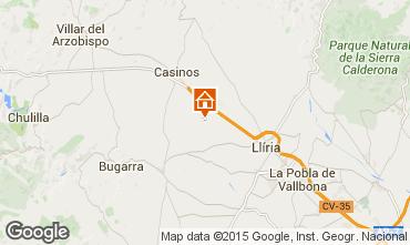 Mapa Valencia Casa 95171