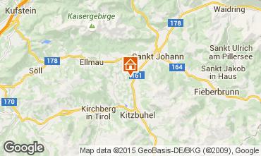 Mapa Kitzbühel Apartamento 19664