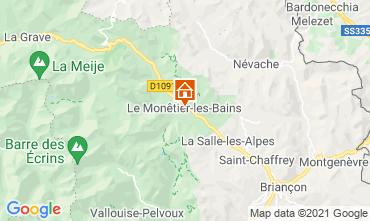 Mapa Serre Chevalier Casa 16150