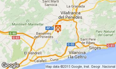 Mapa Sitges Villa 72356
