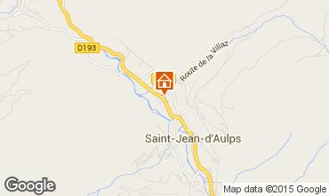 Mapa Saint Jean d'Aulps- La Grande Terche Chalet 27503