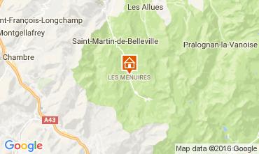 Mapa Les Menuires Chalet 60440