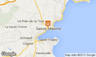 Mapa Sainte Maxime Villa 94309
