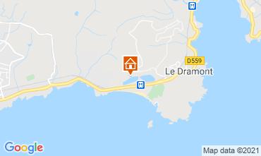 Mapa Saint Raphael Mobil home 37341