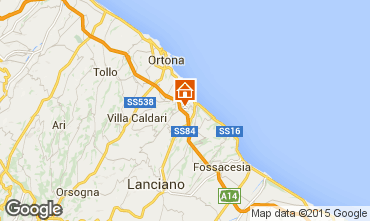 Mapa San Vito Chietino Apartamento 83371