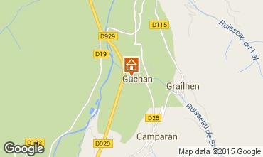 Mapa Saint Lary Soulan Casa rural 97833