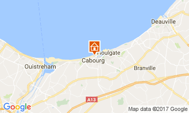 Mapa Cabourg Apartamento 76183