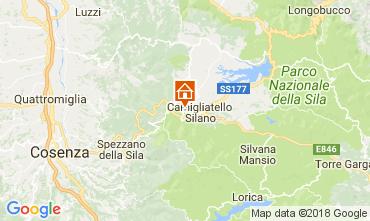 Mapa Camigliatello silano Villa 74845