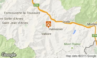 Mapa Valloire Chalet 3392