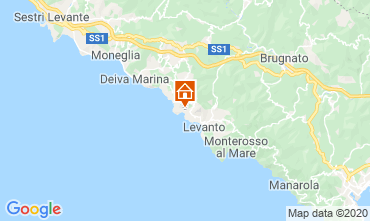 Mapa Bonassola Apartamento 107580