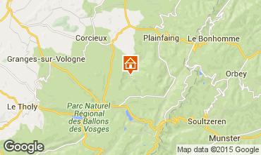 Mapa Gérardmer Chalet 94127