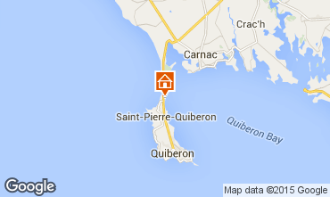 Mapa Quiberon Villa 74928