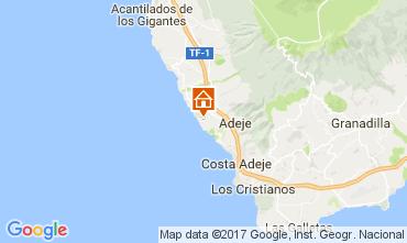 Mapa Adeje Apartamento 15419