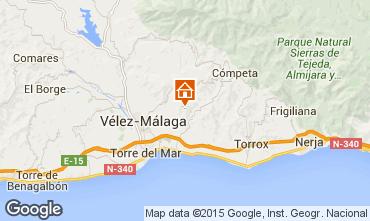 Mapa Arenas Chalet 93750
