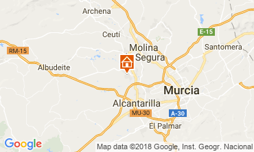 Mapa Murcia Villa 113991