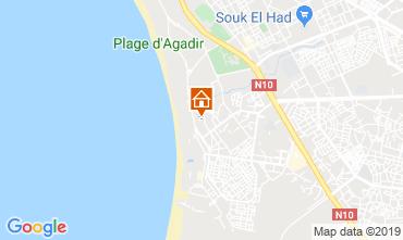 Mapa Agadir Apartamento 76325