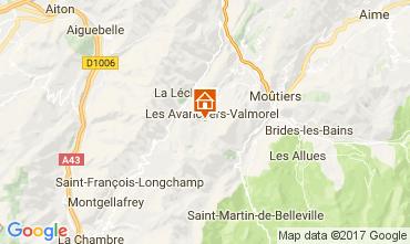 Mapa Valmorel Apartamento 112087