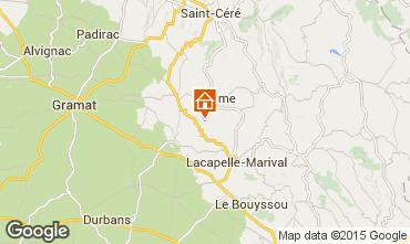 Mapa Rocamadour Casa rural 79870