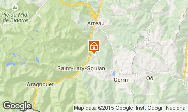 Mapa Saint Lary Soulan Casa rural 65220