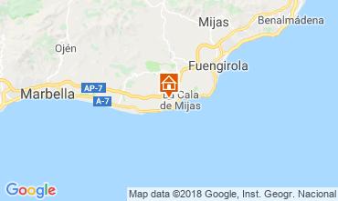Mapa La Cala de Mijas Apartamento 116308