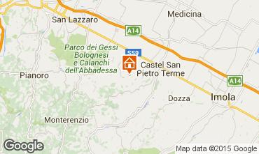 Mapa Castel San Pietro Terme Apartamento 67627