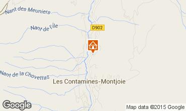 Mapa Les Contamines Montjoie Chalet 971