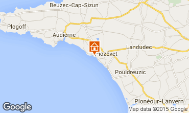 Mapa Plozevet Casa 98043
