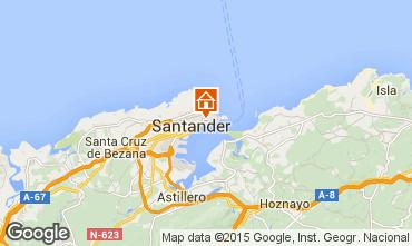 Mapa Santander Apartamento 72165