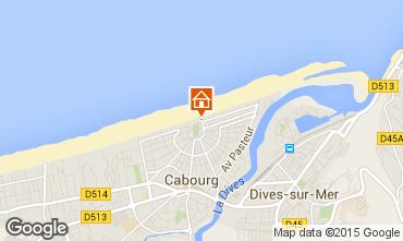 Mapa Cabourg Villa 82116