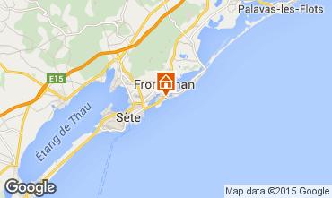 Mapa Frontignan Villa 78184