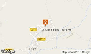 Mapa Alpe d'Huez Apartamento 72818