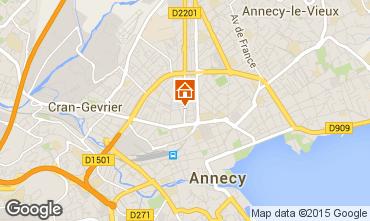 Mapa Annecy Estudio 55708