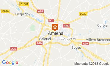 Mapa Amiens Apartamento 117425