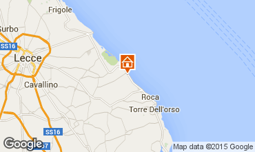 Mapa San Foca Villa 78071