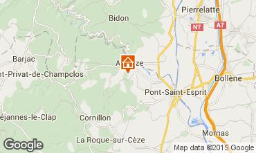 Mapa Saint-Julien-de-Peyrolas Villa 100704