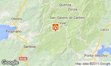 Mapa Ste Lucie de Tallano Villa 98325