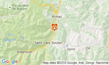 Mapa Saint Lary Soulan Apartamento 41177