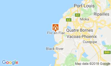 Mapa Flic-en-Flac Villa 11562