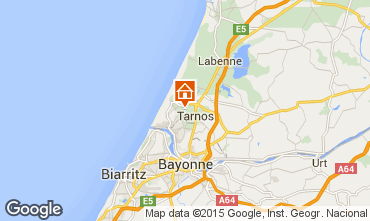 Mapa Biarritz Villa 17168