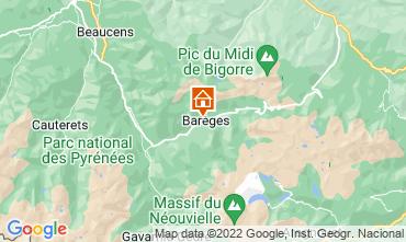 Mapa Barèges Apartamento 3973