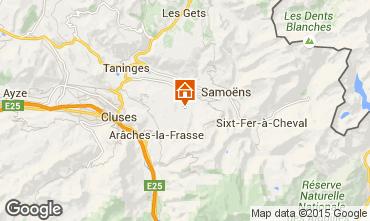 Mapa Morillon Grand Massif Apartamento 28743
