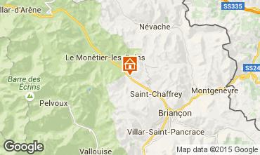 Mapa Serre Chevalier Chalet 14631